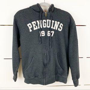 NHL Pittsburgh Penguins Sherpa Lined Zip-up Hoodie